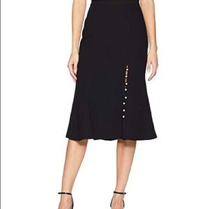 JOA Los Angeles Fit and Flare Skirt